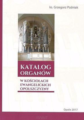 Obrazek Katalog organów w kościołach ewangelickich Op.