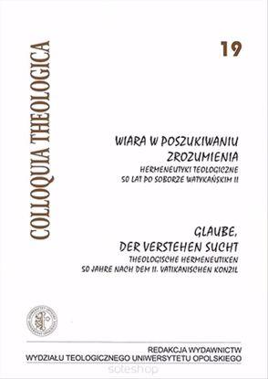 Obrazek Wiara w poszukiwaniu zrozumienia. Glaube der Verstehen sucht. CT nr 19