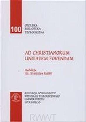 Obrazek AD CHRISTIANORUM UNITATEM